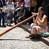San Telmo fare, street performer.