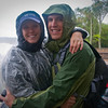 Sasha and I on the upper trail at Iguazu Falls.