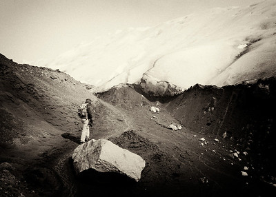 Edge of Perito Moreno Glacier, El Calafate, Argentina