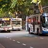 Avenida Santa Fe, Recoleta district, Buenos Aires.