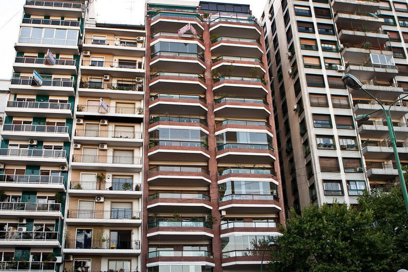 Typical high rise, Palermo district
