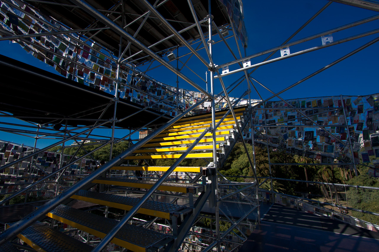 Tower of Babel stairs
