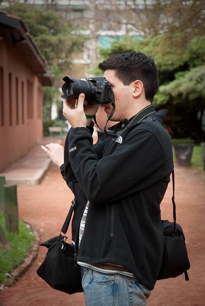 Me and my master photo-taking skills. Photo courtesy of Aaron Meyers.