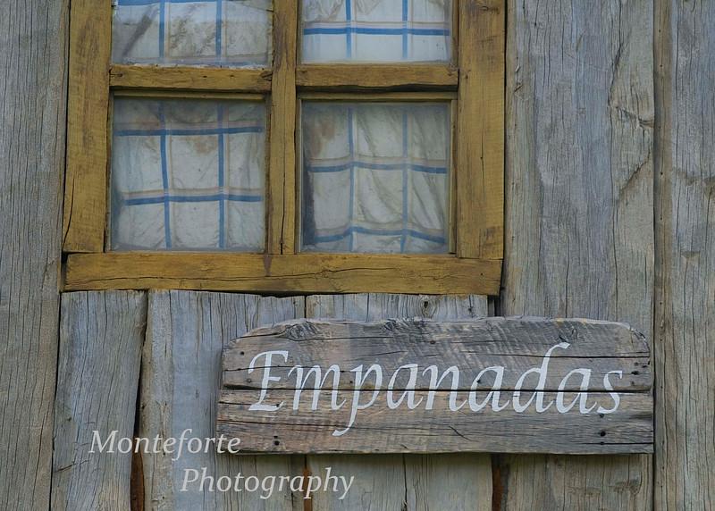 Empanadas for sale, El Chalten, Argentina