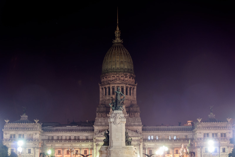 Building of Congress - Buenos Aires, Argentina