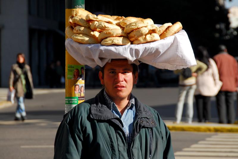 Bread Salesman - Buenos Aires, Argentina