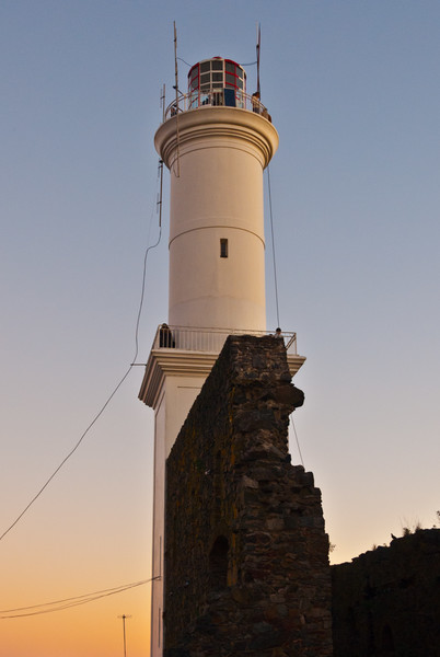 Ruined Lighthouse of Colonia del Sacramento, Uruguay