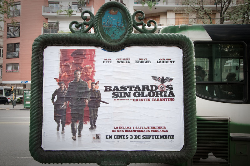 An Inglorious Basterds movie poster!