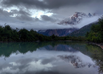 Early morning calm, El Chalten, Argentina
