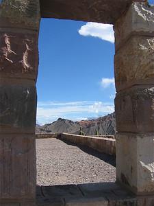 Ruinas del Pucara, Tilcara, Argentinië.