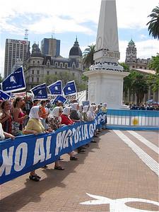 Madres de los Desamparados, De Dwaze Moeders, Buenos Aires, Argentinië.