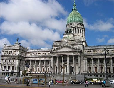 El Congreso, Buenos Aires, Argentinië.