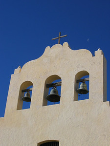 De kerkklokken van Cachi, Argentinië.