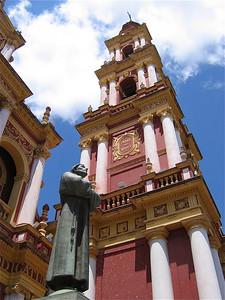Iglesia San Francisco, Salta, Argentinië.
