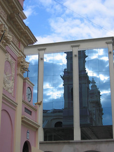 Catedral Basilica de Salta, Argentinië.