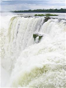 Garganta Diablo, Iguazu Cataratas, Argentinië.