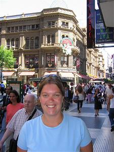 Avenida Florida, Buenos Aires, Argentinië.