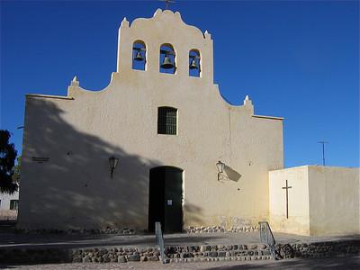 Kerk in Cachi, Argentinië.