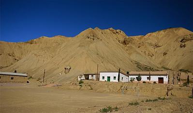 Wonen in La Clenaca. Quebrada de Humahuaca, Jujuy, Argentinië.