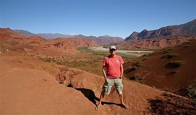 Quebrada de las Conchas. Valles Calchaquies, Cafayate, Argentinië.