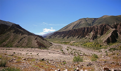 The wild wild west van Sepultura. Quebrada de Humahuaca, Jujuy, Argentinië.