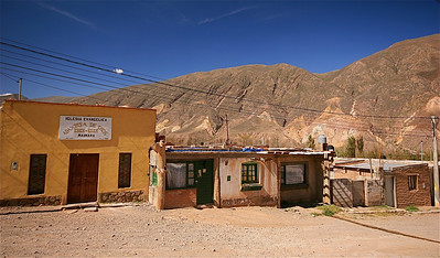 Maimara. Quebrada de Humahuaca, Jujuy, Argentinië.