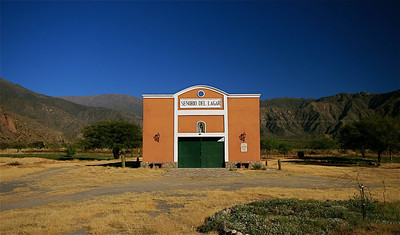 Señorio de Lagar. Valles Calchaquies, Cafayate, Argentinië.