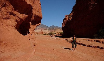 Los Colorados, Quebrada de las Conchas. Valles Calchaquies, Cafayate, Argentinië.