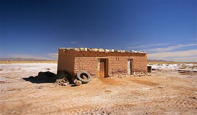 Wonen op de zoutvlakte! Salinas Grandes, Jujuy, Argentinië.