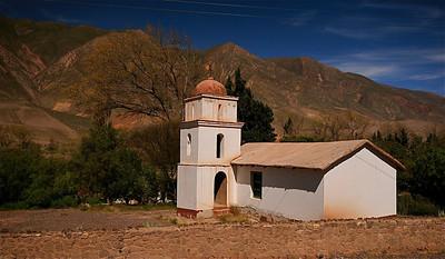 Posta de Hornillos. Quebrada de Humahuaca, Jujuy, Argentinië.