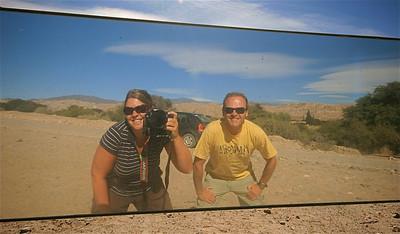 Uit de reeks: 'Spiegelbeeld.' Ruta 40, Valle Calchaquies, Argentinië.