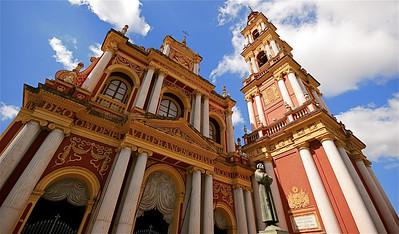 Iglesia San Francisco. Salta, Argentinië.