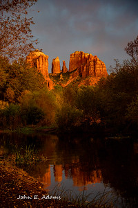 Cathedral Rock Sadona Arizona  Portrait