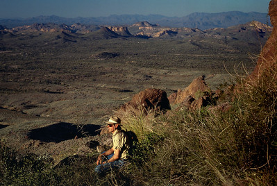 Gary; Superstition Mountains(?) - near Phoenix, Arizona - 1986-87