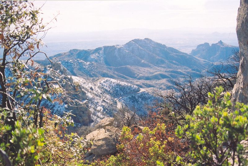 I think this is one of my best photos ever. The view of Tuscon from Mt. Lemmon.