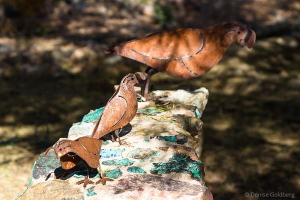 sculpture, Tohono Chul Park