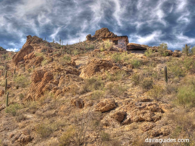 CCC shelter at Tucson Mountain Park