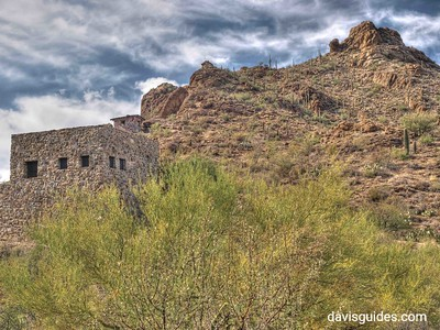 CCC building in Tucson Mountain Park