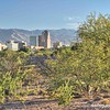 Tucson skyline from Santa Cruz River Trail