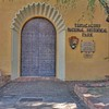 Entrance to Tumacacori Mission National Historical Park