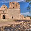 Ruins of Tumacacori Mission church