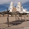 Mission San Xavier del Bac in Tucson