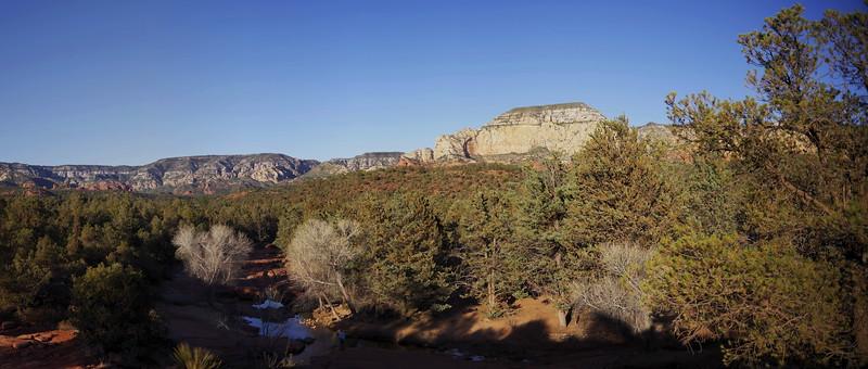 Sedona pano14  Dry Creek