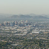 Phoenix, Arizona, shot from South Mountain