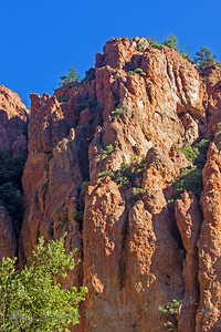 Cave Creek Canyon Cliffs