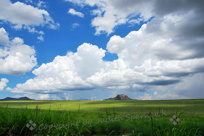 Butte in the Grasslands