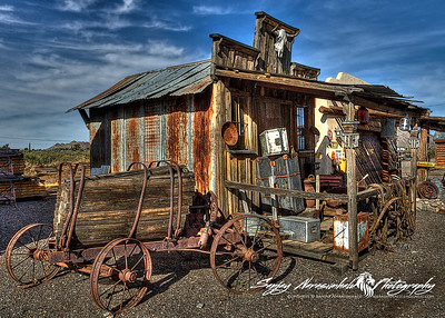 Ghost Town in Congress, Arizona December 1, 2012