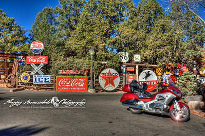 Losing Direction on a Goldwing in Sedona, Arizona December 2, 2012