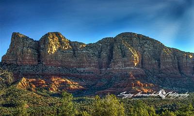 Mountains east of Sedona, Arizona December 2, 2012