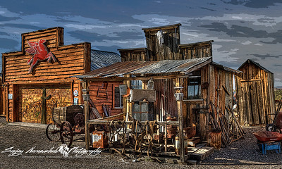 Congress Ghost Town in Arizona, December 1, 2012